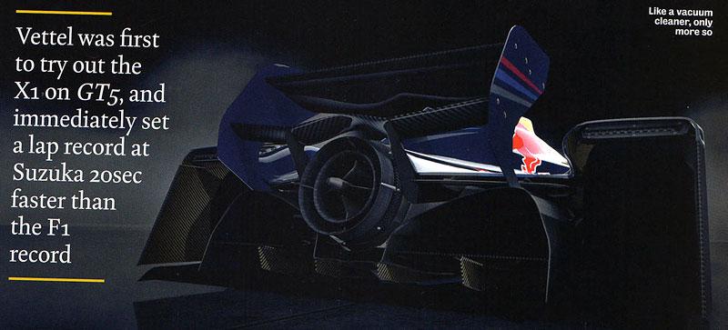 Red Bull X1 odhalen: rakouský 1483koňový projektil pro závodní okruhy: - fotka 3