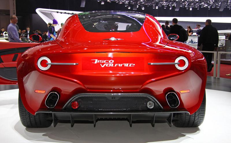 Carrozzeria Touring Superleggera Disco Volante: Z nehybného modelu produkční sportovec: - fotka 10