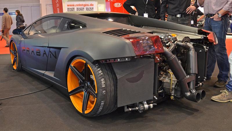 Autosalon Essen 2013: Tuningové řádění: - fotka 44