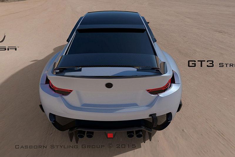 BMW M4 Coupé se proměňuje v Mamba GT3 Street Concept: - fotka 4