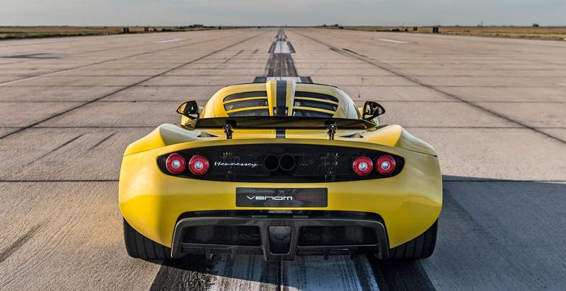 Hennessey Venom GT Spyder je nejrychlejší kabriolet na světě: - fotka 21