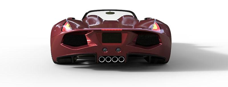 TranStar Dagger GT: supersport s výkonem 2000 koní: - fotka 19