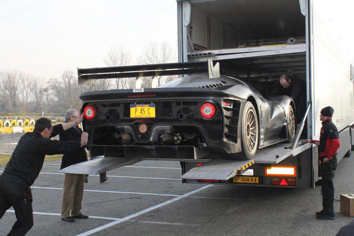 Ferrari P4/5 Competizione poprvé na trati: - fotka 18