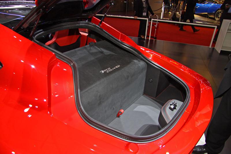 Carrozzeria Touring Superleggera Disco Volante: Z nehybného modelu produkční sportovec: - fotka 11