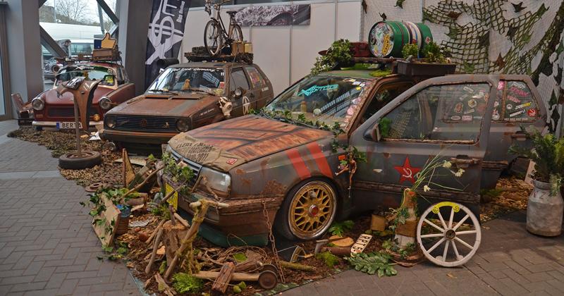 Autosalon Essen 2013: Tuningové řádění: - fotka 60