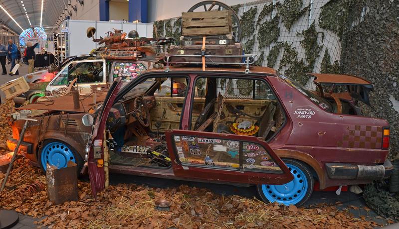 Autosalon Essen 2013: Tuningové řádění: - fotka 61
