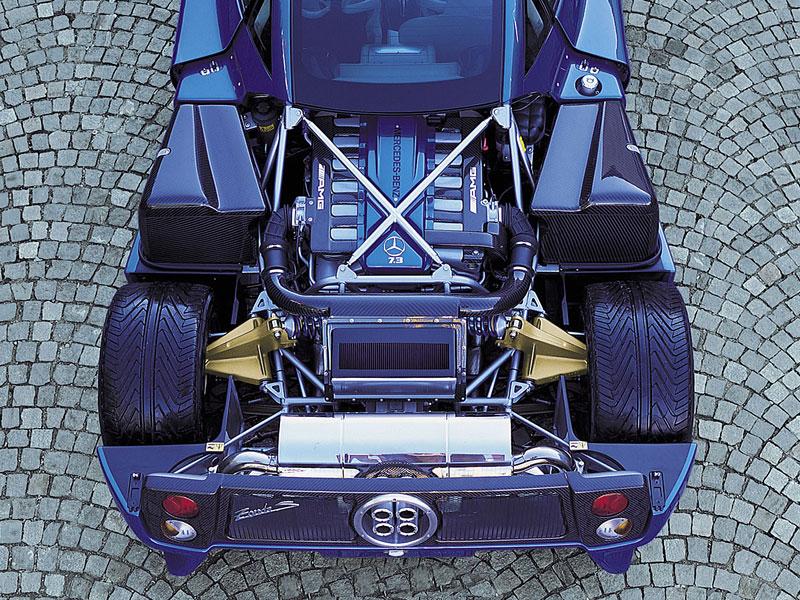 Pagani Zonda: Crash za 8,5 milionu: - fotka 24