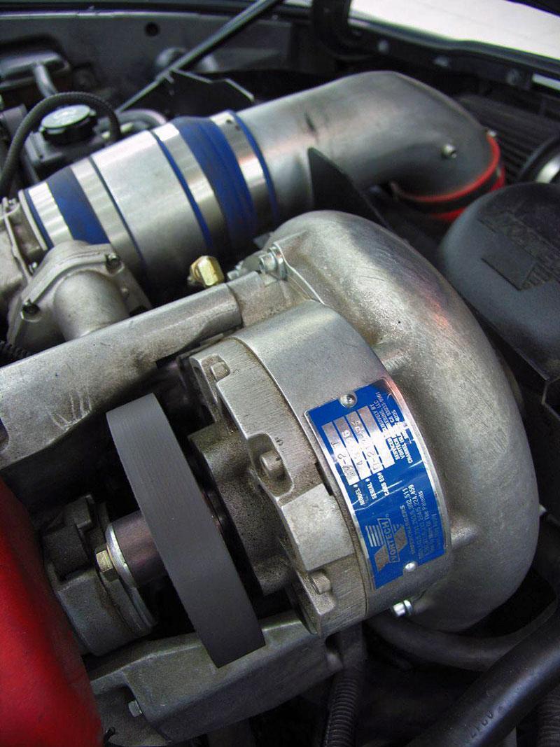 Corvette Z06 Romeo Ferraris: hamburger se špagetami: - fotka 16