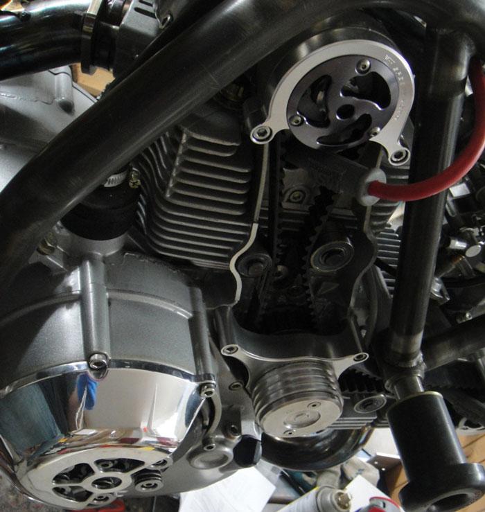 Ducati Cafe Racer od Moto Brilliance: - fotka 11