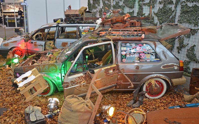 Autosalon Essen 2013: Tuningové řádění: - fotka 62