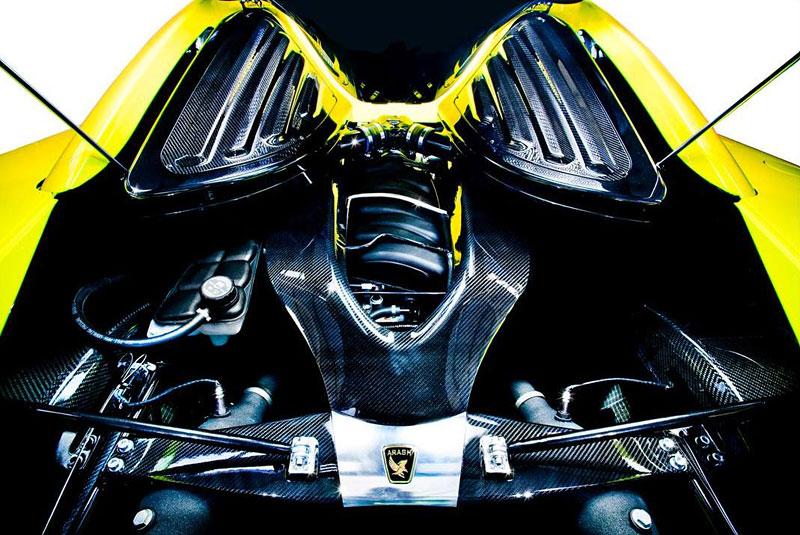 Arash AF8: Britský supersport se 7,0 V8 (410 kW): - fotka 21