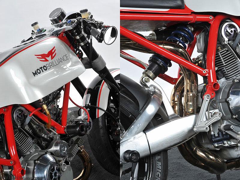 Ducati Cafe Racer od Moto Brilliance: - fotka 12