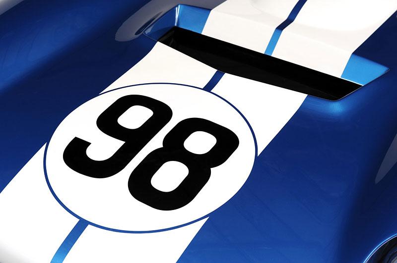 Shelby Cobra Daytona Coupe MKII: modernizovaná klasika: - fotka 5