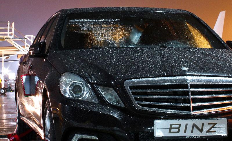 Binz: šest dveří pro Mercedes-Benz třídy E: - fotka 16