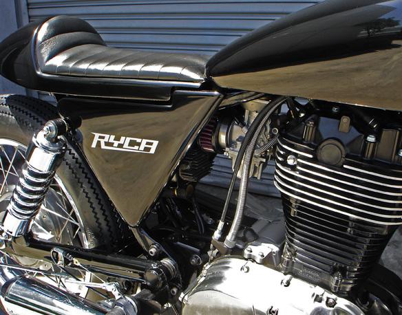 Ryca Motors CS-1: café racer z chopperu: - fotka 10