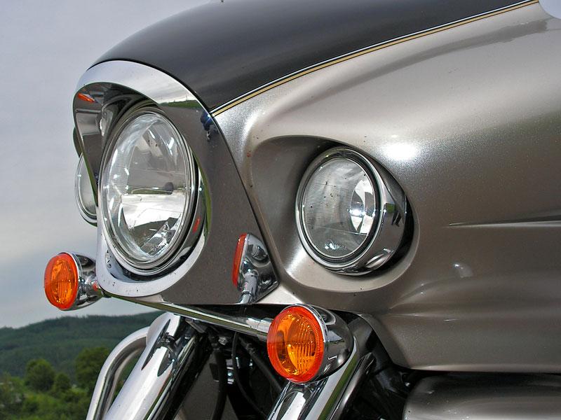 Test: Kawasaki VN1700 Voyager a srovnání s Harley-Davidson Electra Glide: - fotka 25