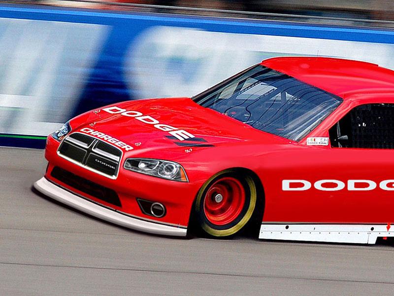 Speciál Dodge pro NASCAR s novou přídí: - fotka 2
