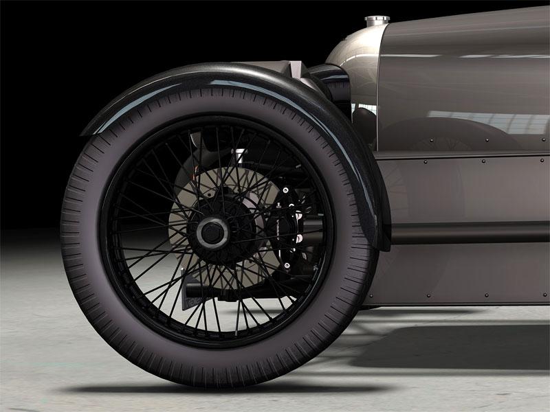 Morgan Threewheeler: zájem o tříkolku je velký!: - fotka 11