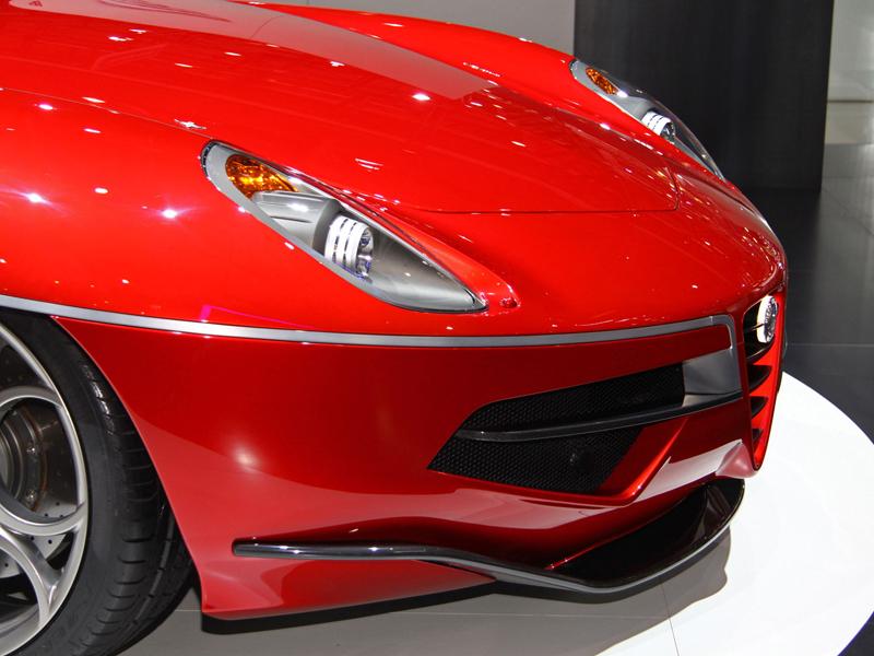 Carrozzeria Touring Superleggera Disco Volante: Z nehybného modelu produkční sportovec: - fotka 12
