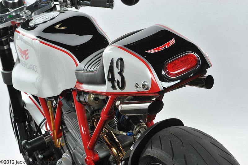 Ducati Cafe Racer od Moto Brilliance: - fotka 13
