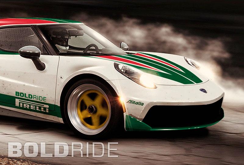 Alfa Romeo 4C jako moderní Lancia Stratos HF: - fotka 3