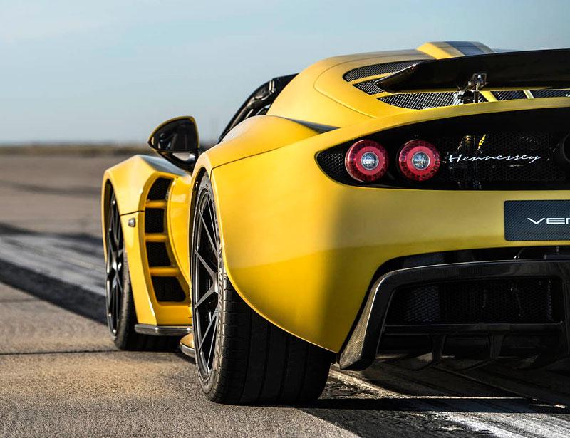 Hennessey Venom GT Spyder je nejrychlejší kabriolet na světě: - fotka 24