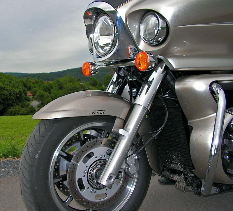 Test: Kawasaki VN1700 Voyager a srovnání s Harley-Davidson Electra Glide: - fotka 26