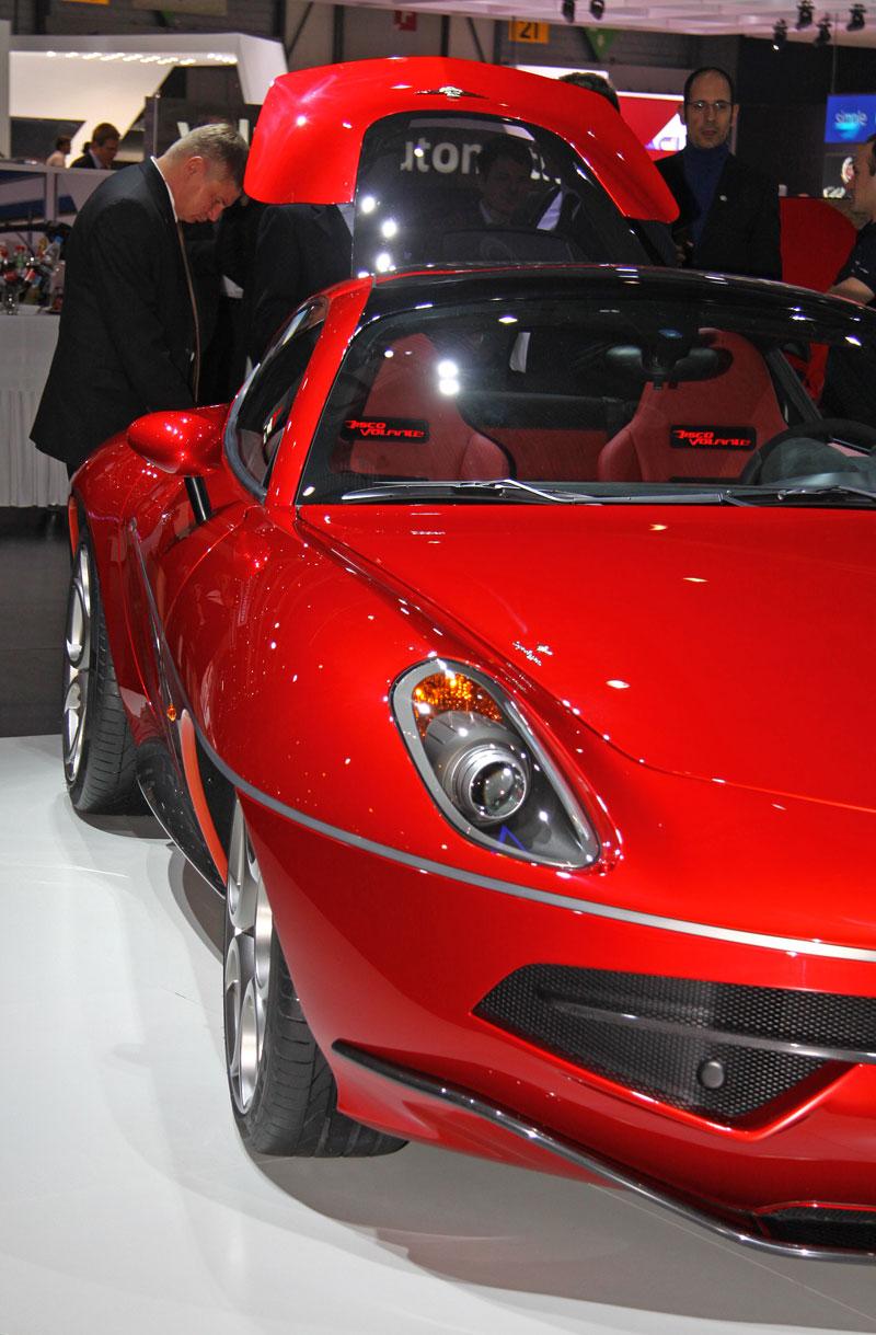 Carrozzeria Touring Superleggera Disco Volante: Z nehybného modelu produkční sportovec: - fotka 13