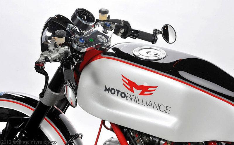 Ducati Cafe Racer od Moto Brilliance: - fotka 14