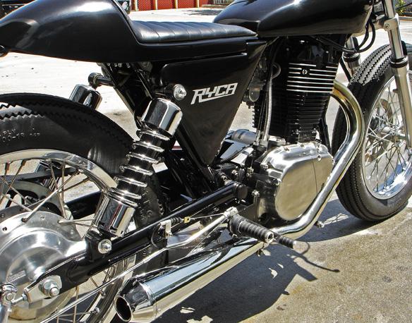 Ryca Motors CS-1: café racer z chopperu: - fotka 12
