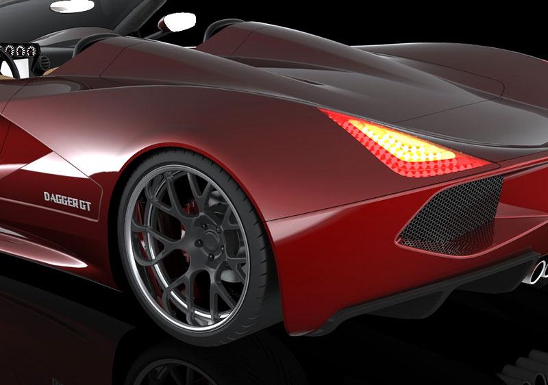 TranStar Dagger GT: supersport s výkonem 2000 koní: - fotka 22