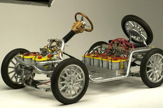 Takayanagi Miluira: retro elektromobil z Japonska: - fotka 7