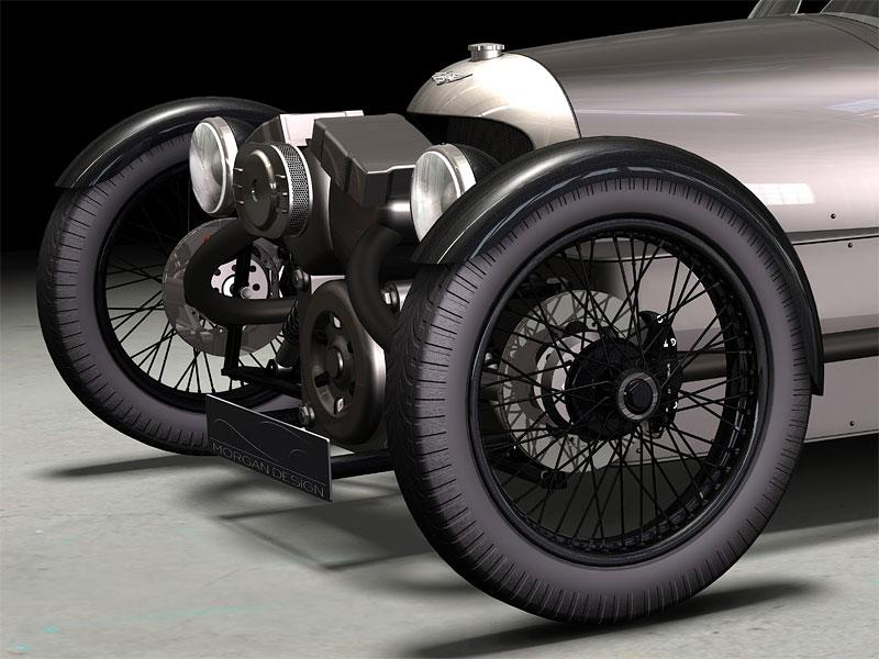 Morgan Threewheeler: zájem o tříkolku je velký!: - fotka 13