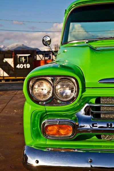 Retro Electro: 1958 Chevrolet Apache na elektřinu (video): - fotka 22