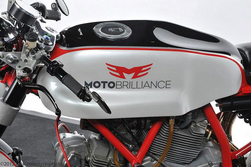 Ducati Cafe Racer od Moto Brilliance: - fotka 15