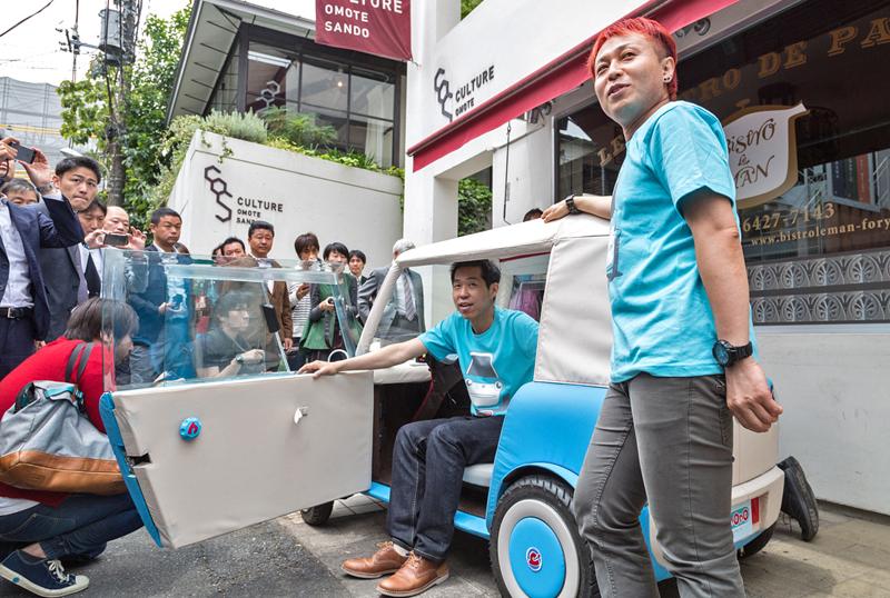 Rimono EV: Elektrický hadraplán z Japonska? Už příští rok: - fotka 15