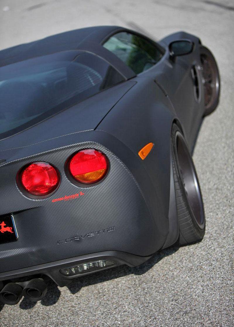 Corvette Z06 Romeo Ferraris: hamburger se špagetami: - fotka 20