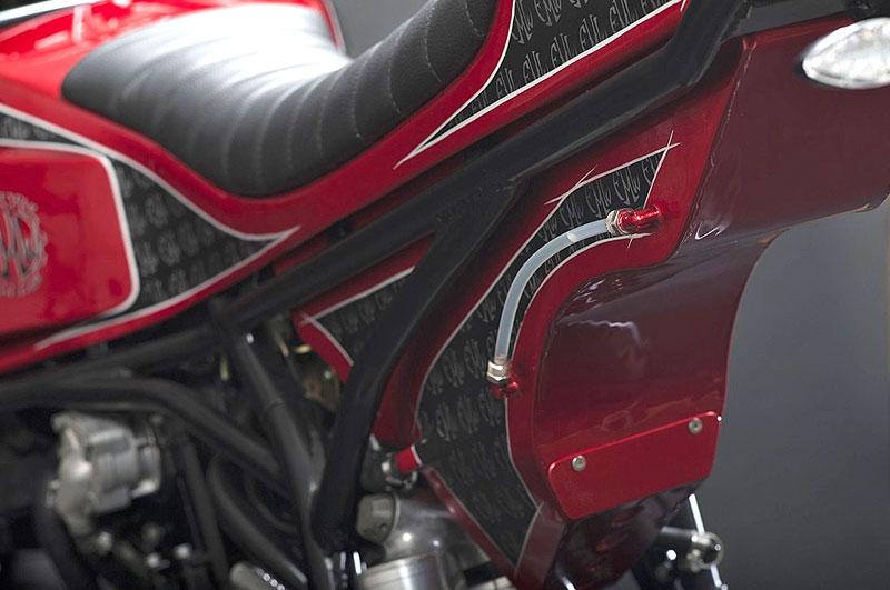 FMW Coito: Povedená přestavba starší KTM: - fotka 7