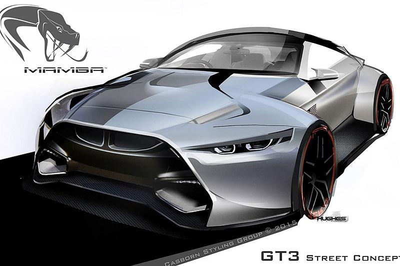 BMW M4 Coupé se proměňuje v Mamba GT3 Street Concept: - fotka 8