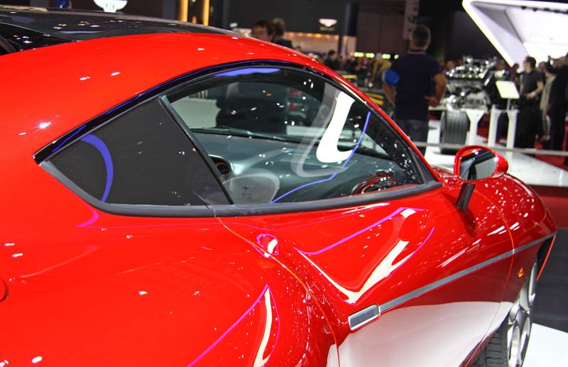 Carrozzeria Touring Superleggera Disco Volante: Z nehybného modelu produkční sportovec: - fotka 16