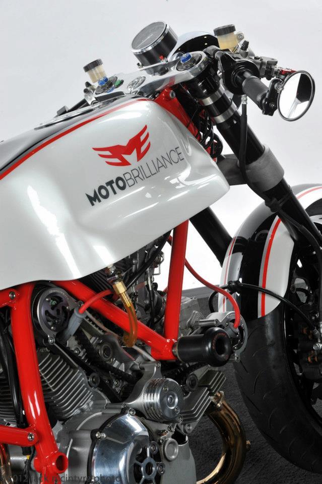 Ducati Cafe Racer od Moto Brilliance: - fotka 17