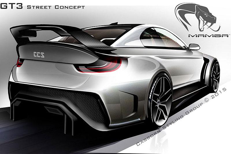 BMW M4 Coupé se proměňuje v Mamba GT3 Street Concept: - fotka 9