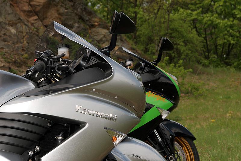 Test - Kawasaki ZZR1400: božský hypertourer: - fotka 26