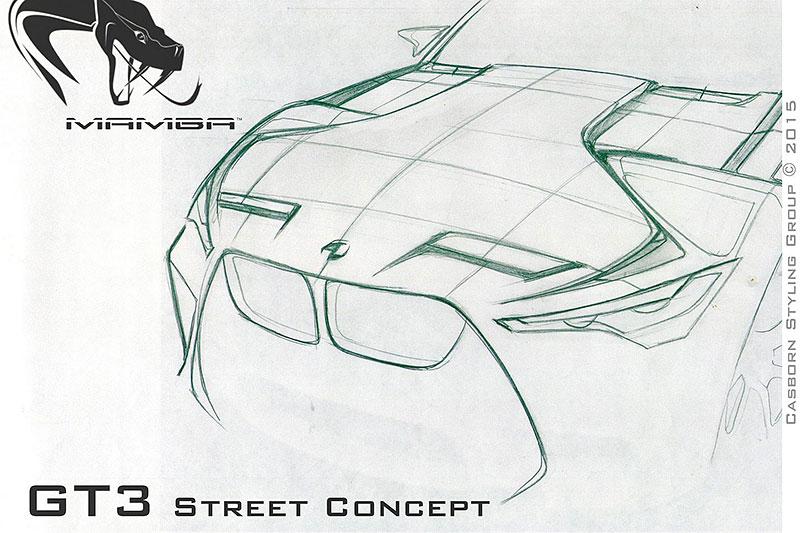 BMW M4 Coupé se proměňuje v Mamba GT3 Street Concept: - fotka 10