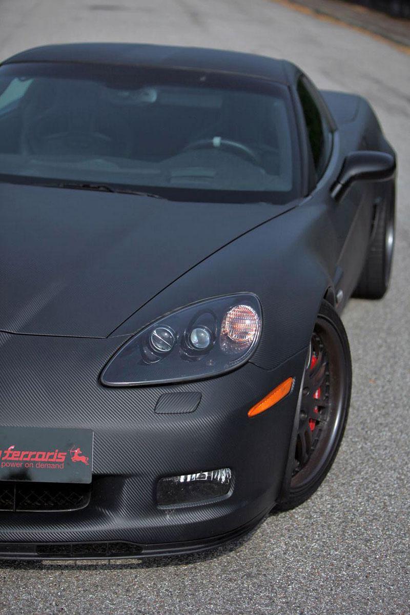 Corvette Z06 Romeo Ferraris: hamburger se špagetami: - fotka 23