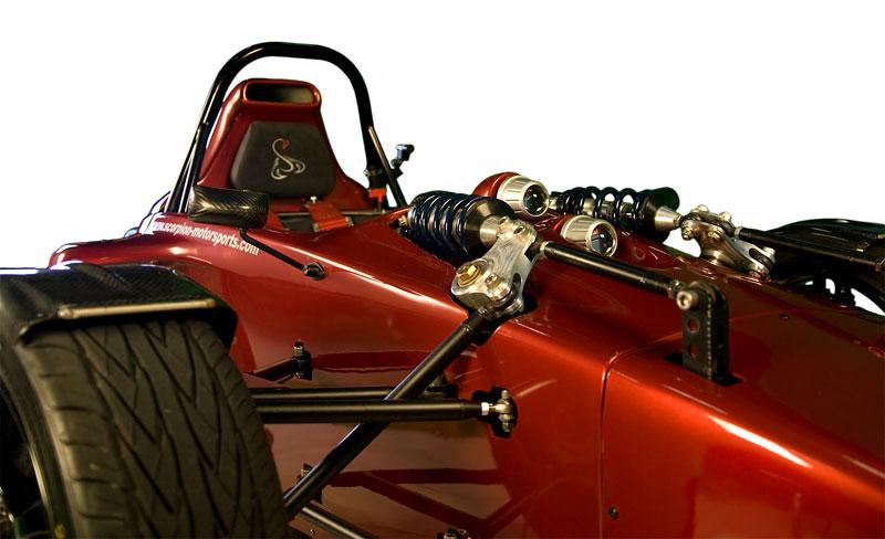 Scorpion P6 - formule nebo tříkolka?: - fotka 34
