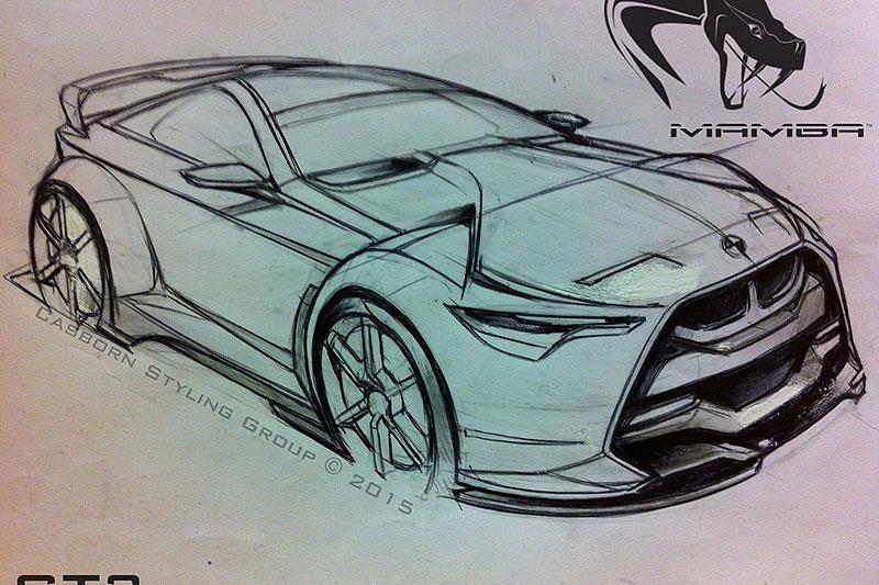 BMW M4 Coupé se proměňuje v Mamba GT3 Street Concept: - fotka 11
