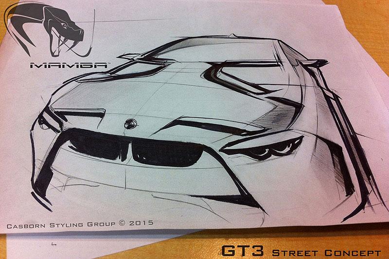 BMW M4 Coupé se proměňuje v Mamba GT3 Street Concept: - fotka 12