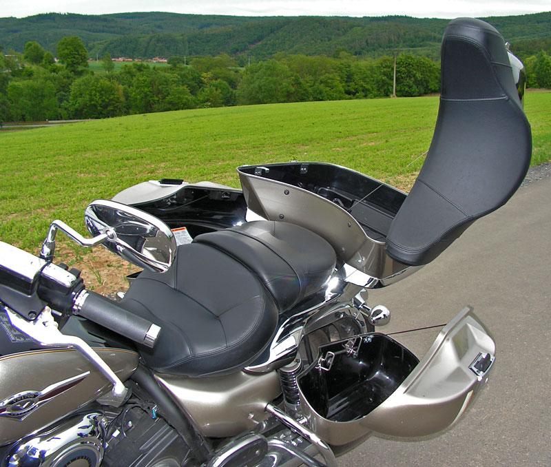 Test: Kawasaki VN1700 Voyager a srovnání s Harley-Davidson Electra Glide: - fotka 33