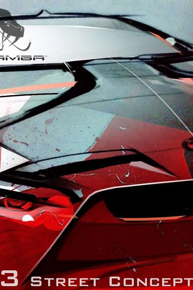 BMW M4 Coupé se proměňuje v Mamba GT3 Street Concept: - fotka 13